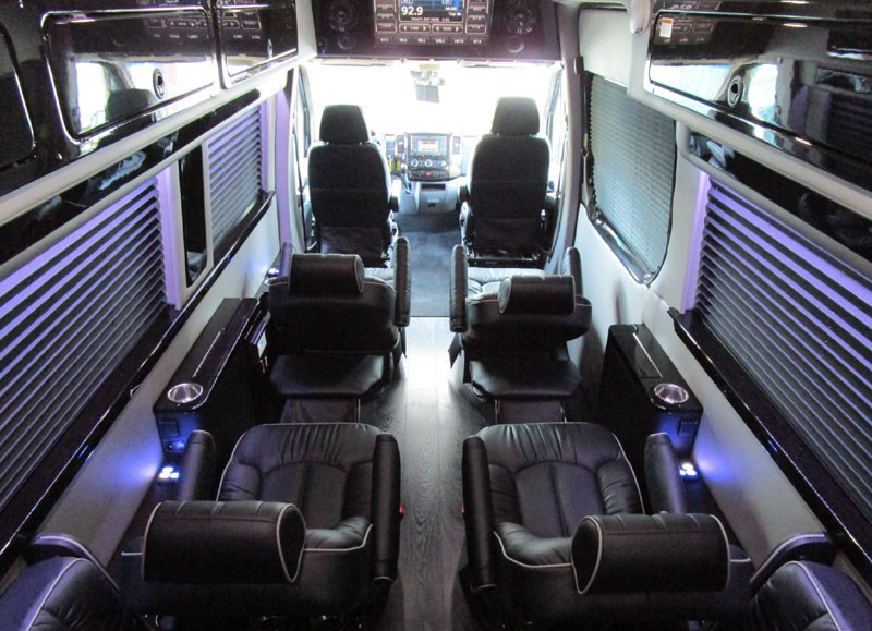 Mercedes Sprinter Van Interior